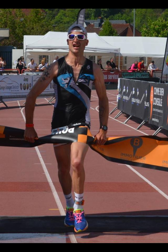 David CLAEREBOUT winning lux. national title @ POWERMAN Diekirch