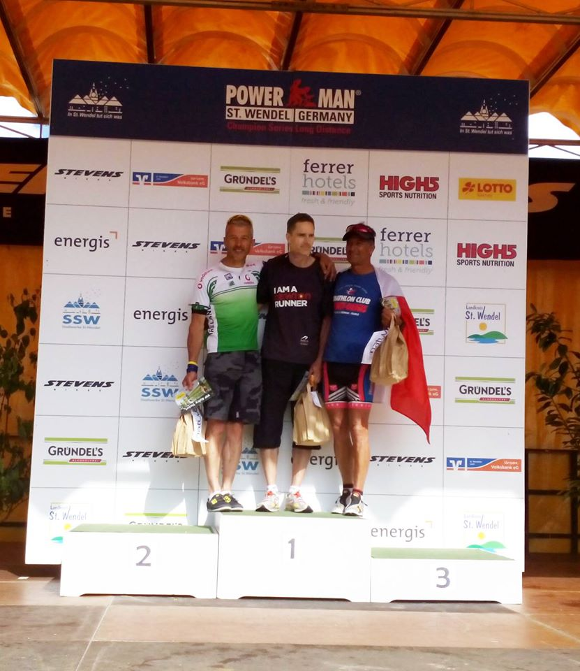 Podium Chris Doyle