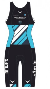 Triathlon Suit T20 female front